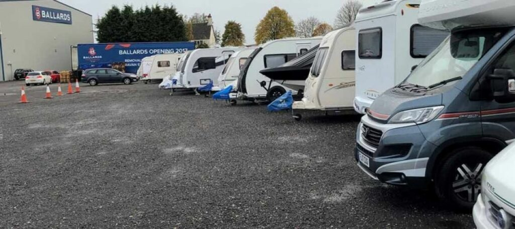 If you know that you're unlikely to use your caravan for a month or more