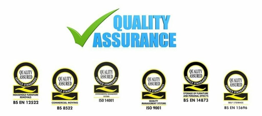 Ballards removals and storage - quality management standards