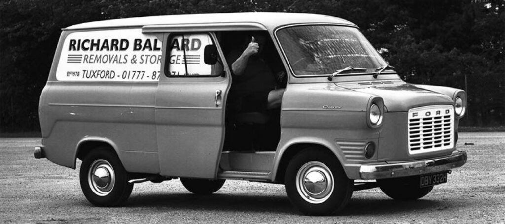 Ballards removals - our early days