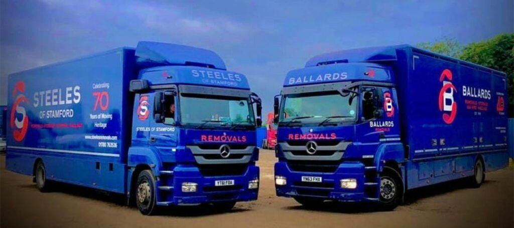 Ballards and Steeles Removal Trucks