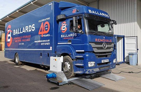 Ballards Lorry Image